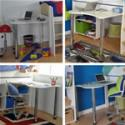 Kids Avenue Urban Desk with 2 legs