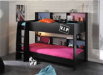 Kids Avenue High Tek black bunk bed reversible panels