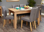 Baumhaus Mobel Oak 6 Seater Table and Chair Set 4