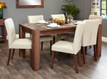 Baumhaus Shiro Walnut 8 Seater Table and Chair Set 2