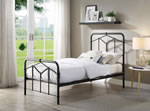 Flintshire Furniture Axton Black Metal Bed