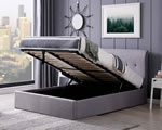 Flintshire Furniture Carmel Ottoman Grey Storage Bed