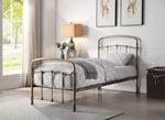 Flintshire Furniture Mostyn Antique Bronze Metal Bed