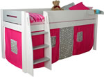 Kids Avenue Urban 3 Grey Mid Sleeper Bed