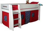 Kids Avenue Urban 4 Grey Mid Sleeper Bed