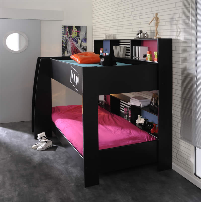 Black Bunk Beds Kids Avenue High Tek