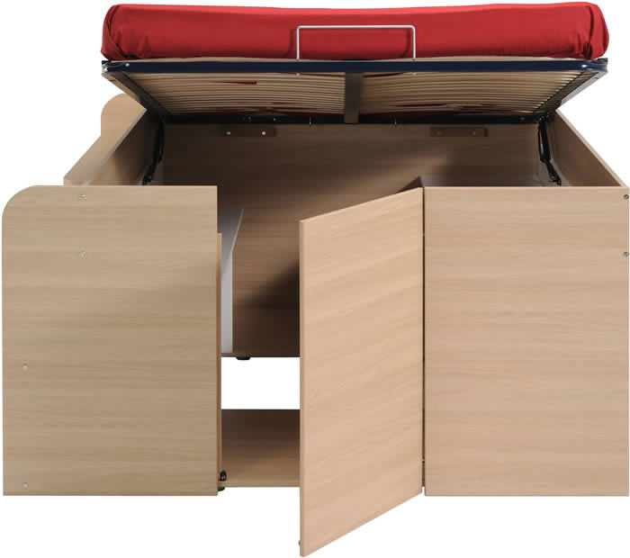 Kids Avenue Space Up double cabin bed with storage : The Home and Office Stores