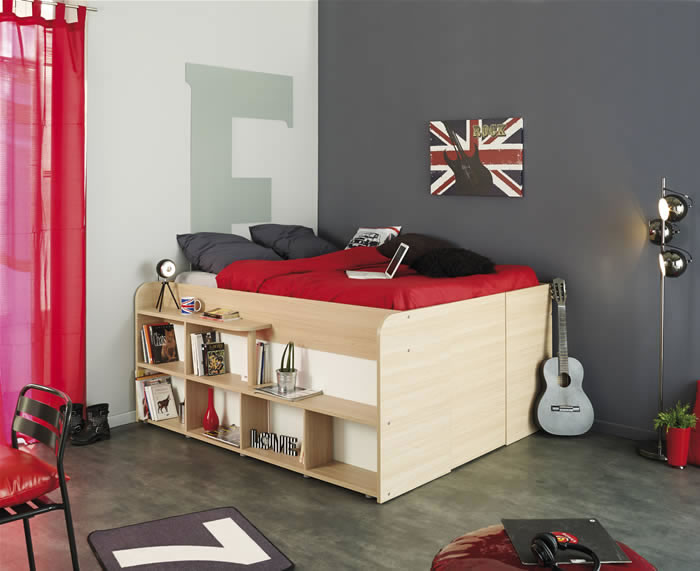 Reviews parisot space up double cabin bed with storage kids avenue - Small space furniture uk pict ...
