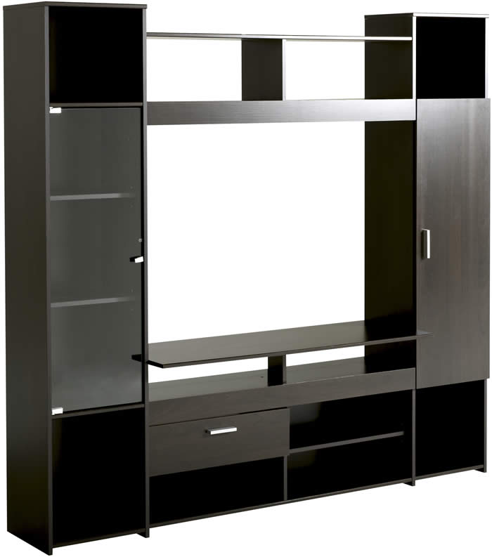 TV unit with storage drawer and shelves | The Home and Office Stores