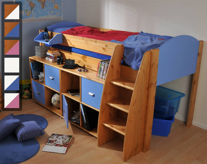 cabin beds single share oak childrens white shop york sussex new bed