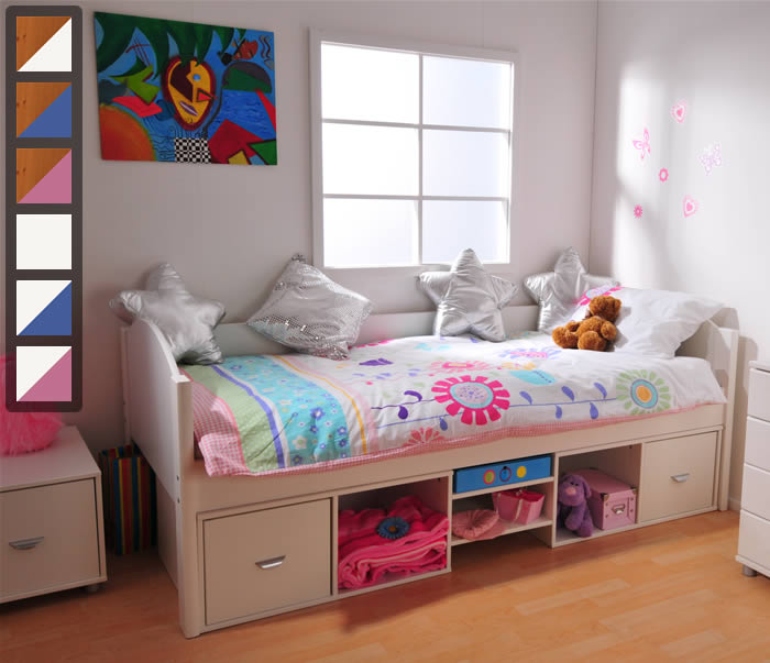 Delightful Single Bed With Storage Part - 14: The Home And Office Stores