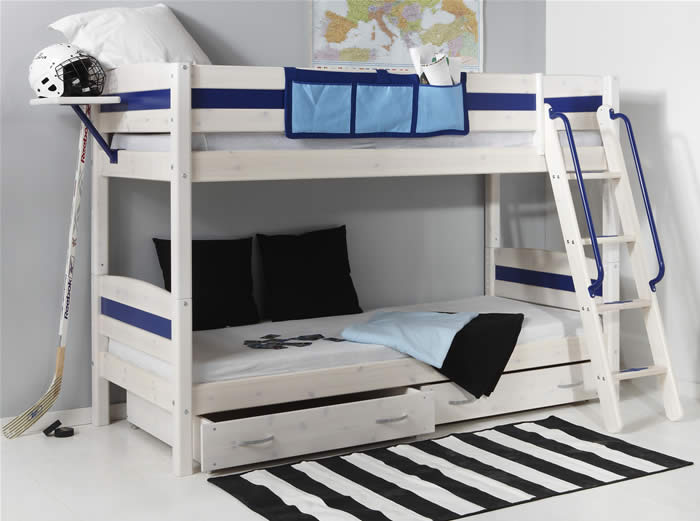children s bunk beds pine thuka trendy 24