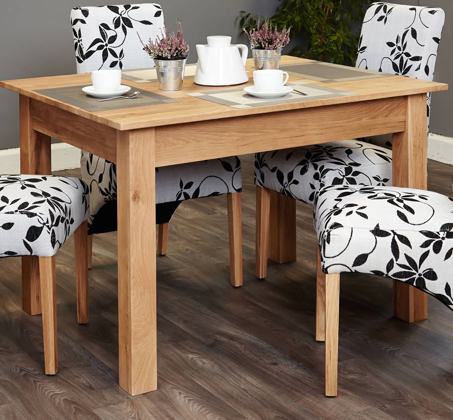 baumhaus mobel oak 4 seater table and chair set 1 baumhaus mobel oak upholstered dining chair