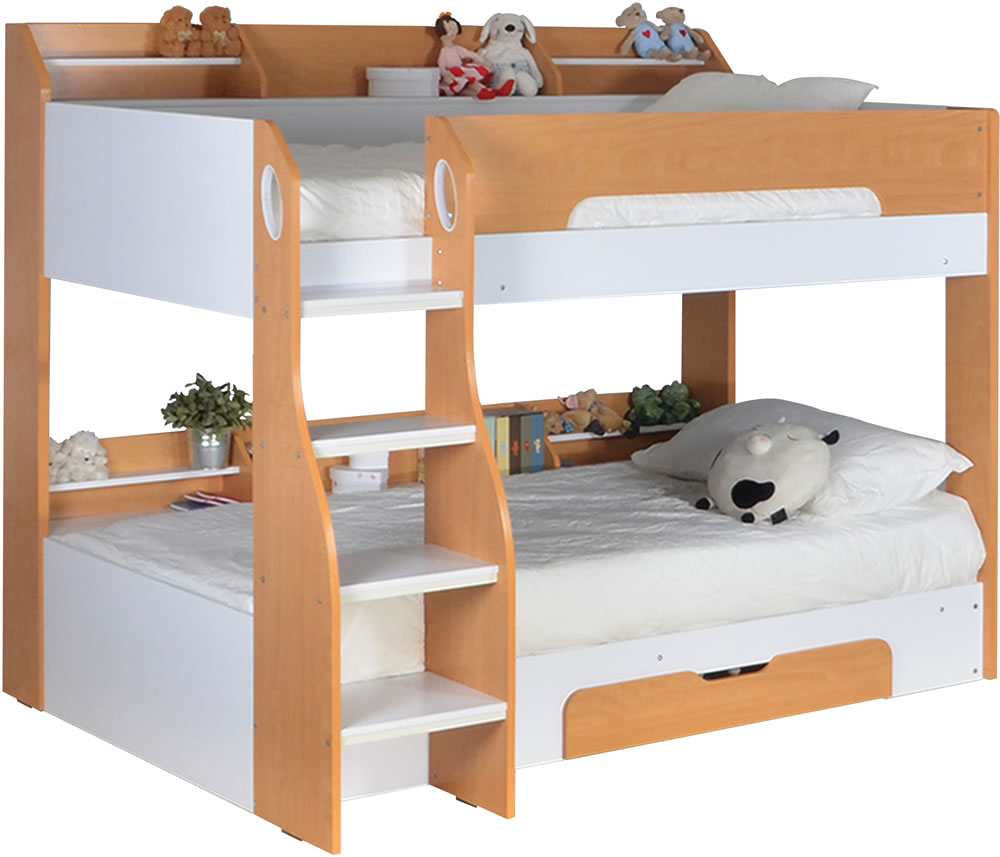 Flick Bunk Bed Maple By Flair Furnishings