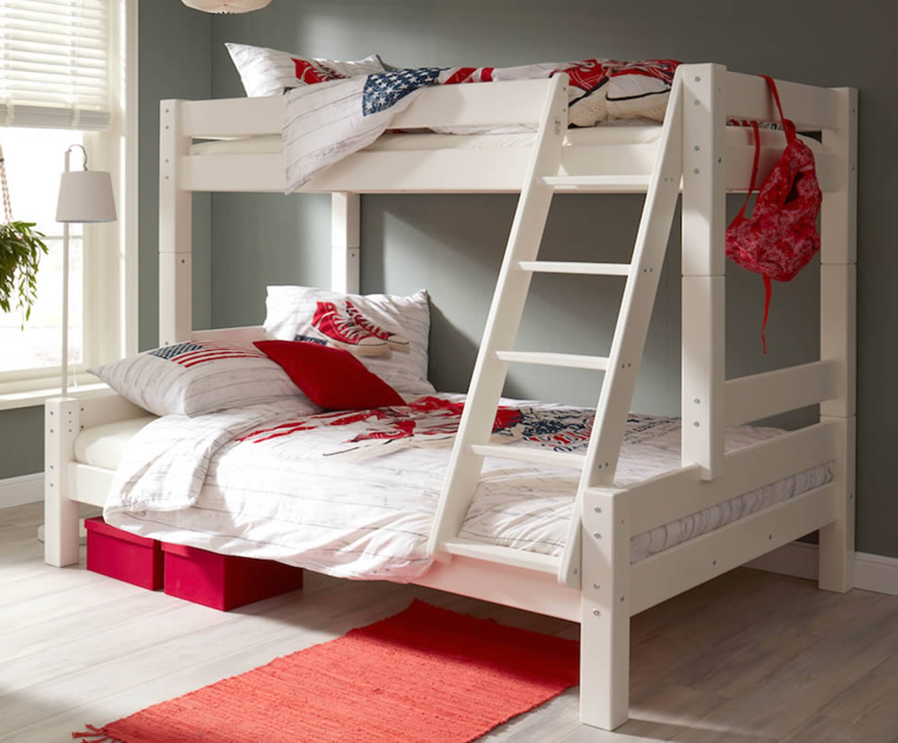 Harper Triple Bunk Bed Flair Furnishings The H O Stores