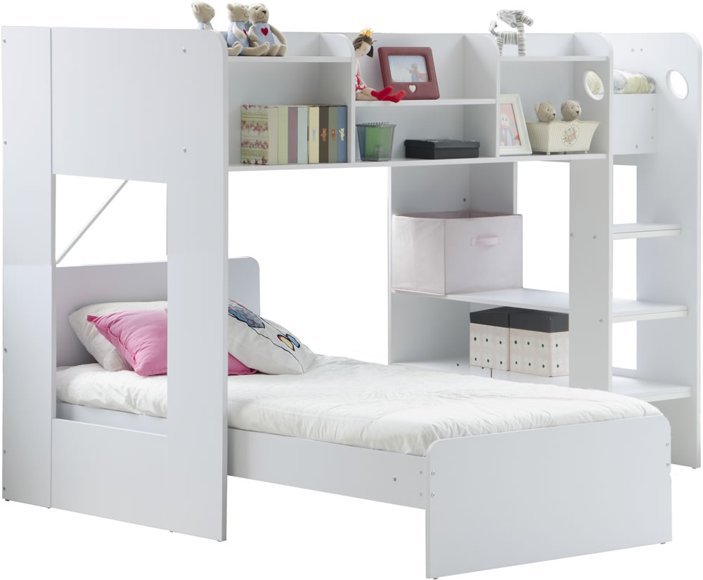 Wizard L Shaped Bunk Bed By Flair Furnishings