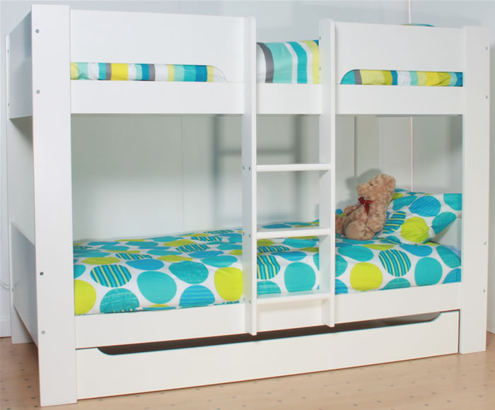 Flexa Kids Bed.Flexa Heidi Bunk Bed In White The Home And Office Stores