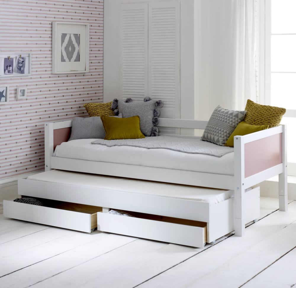 - Flexa Nordic Day Bed 1 Rose Gable Ends H&O Stores UK