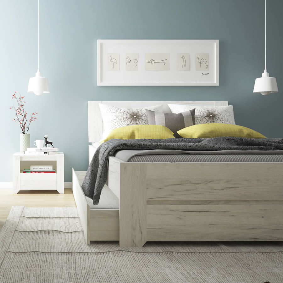 Bed 140 Cm.Ftg Angel 140cm Double Bed
