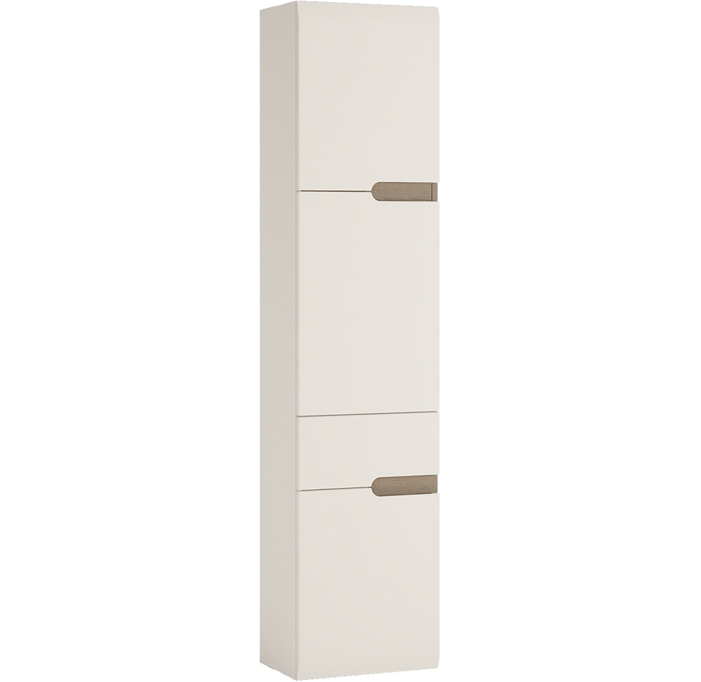 Furniture To Go Chelsea Bathroom Tall 1 Drawer 2 Door Cabinet Lh