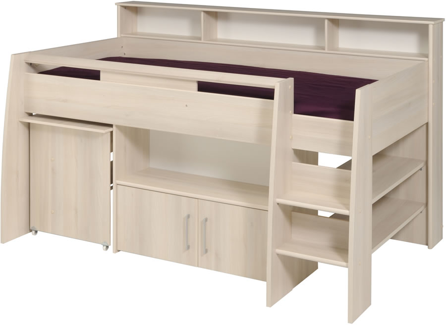 Kids Avenue Kurt Midsleeper Cabin Bed Parisot