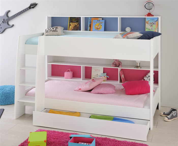 Tam Tam Bunk Bed White Kids Avenue