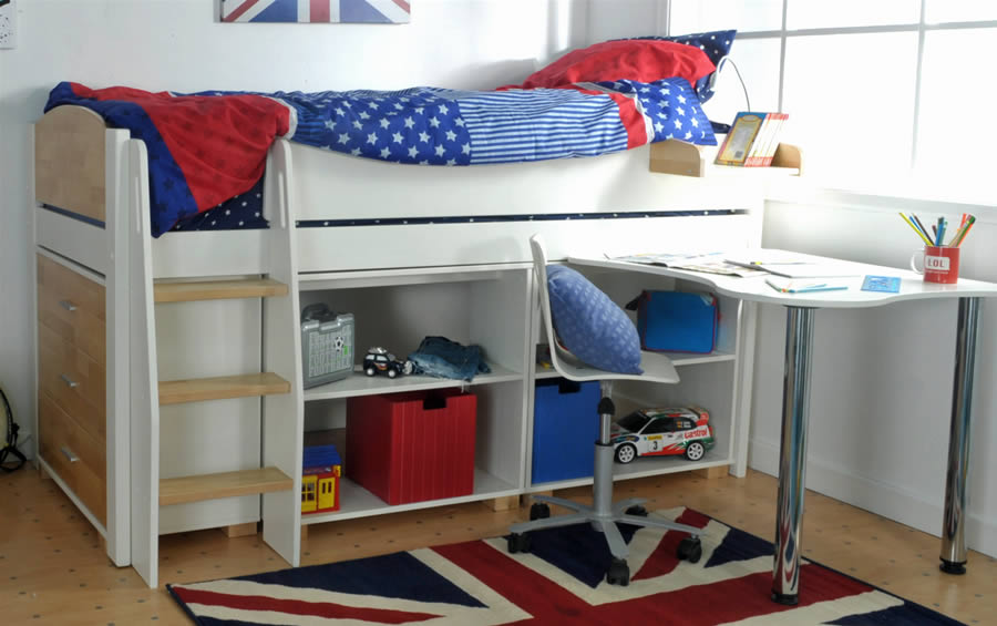 Kids avenue urban midsleeper bed 5 for Urban home beds