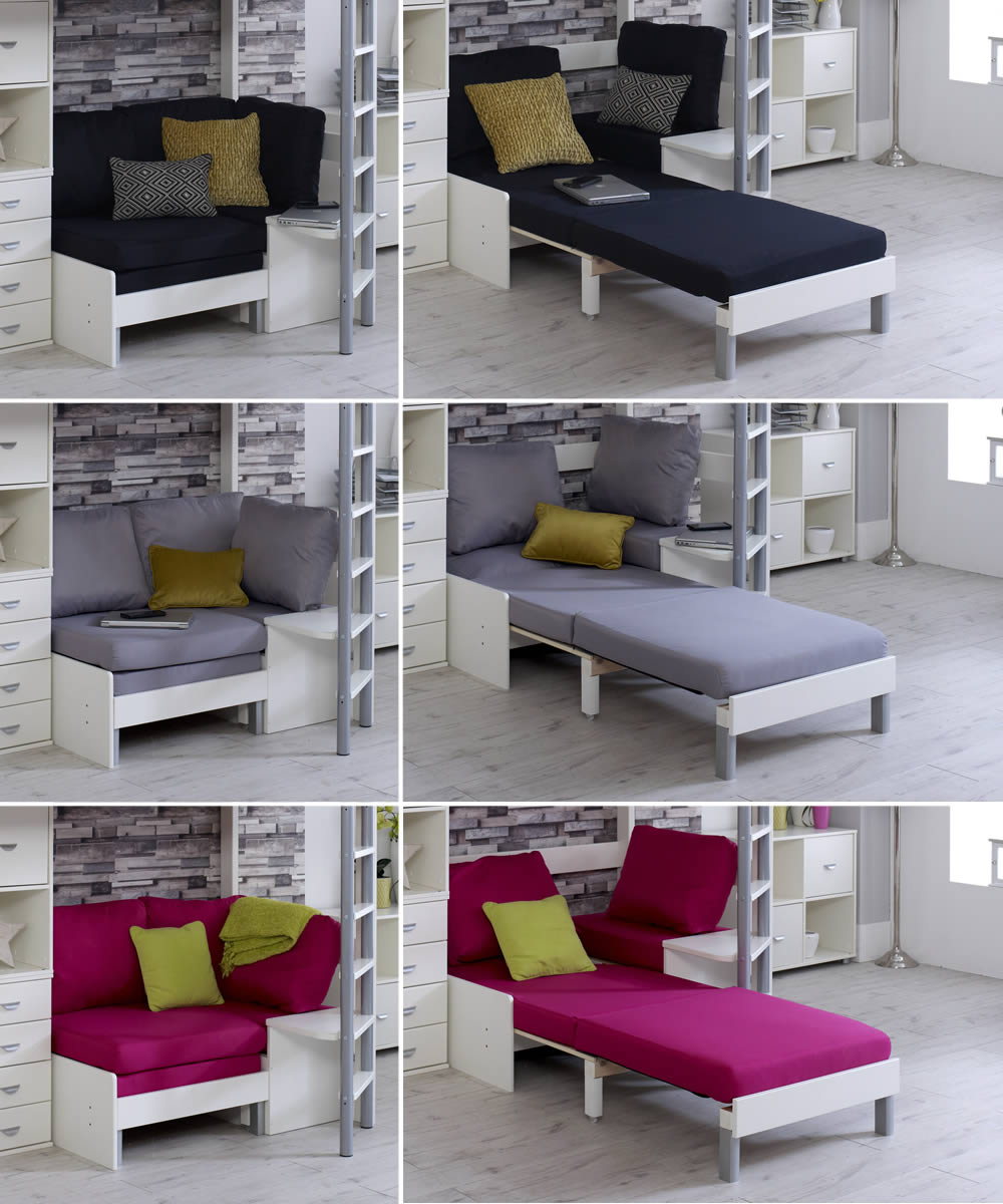 Picture of: Kids Avenue Pull Out Sofa Bed Foam Cushion Set