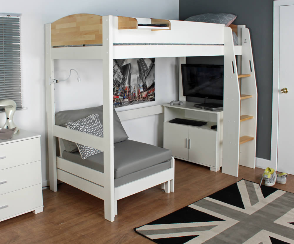 Fantastic Kids Avenue Urban Birch High Sleeper Bed 3 Caraccident5 Cool Chair Designs And Ideas Caraccident5Info