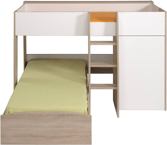 l shaped bunk beds parisot magellan the home and office stores. Black Bedroom Furniture Sets. Home Design Ideas