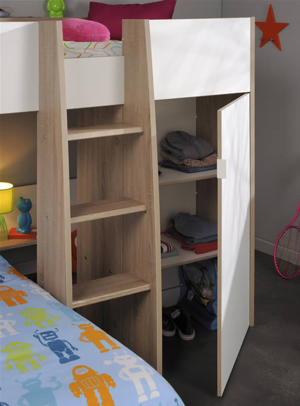 L Shaped Bunk Beds Parisot Magellan The Home And
