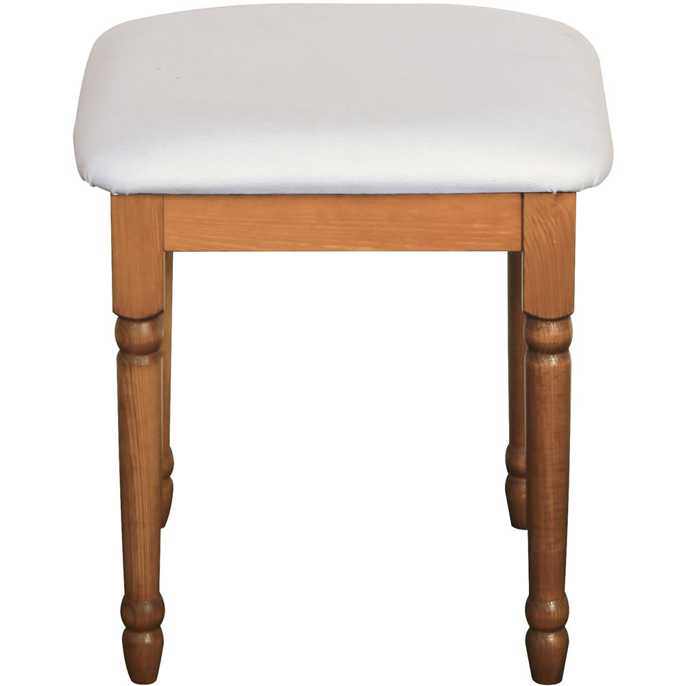 Dressing Table Stool Pine Steens Richmond The Home