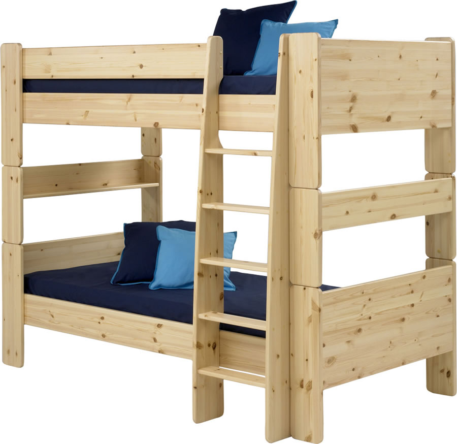 pine bunk beds steens for kids. Black Bedroom Furniture Sets. Home Design Ideas