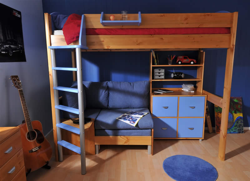 Stompa Casa High Sleeper Bed Build Your Own