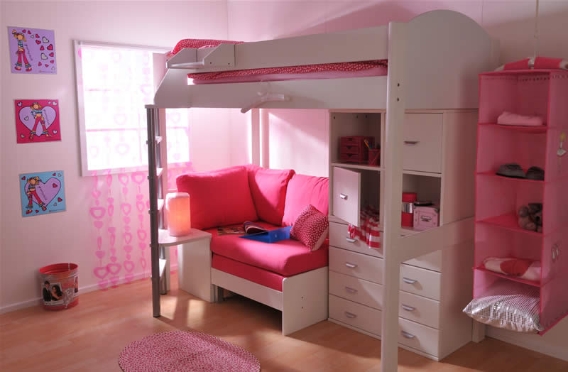 Stompa Casa High Sleeper Bed Build Your Own The Home And