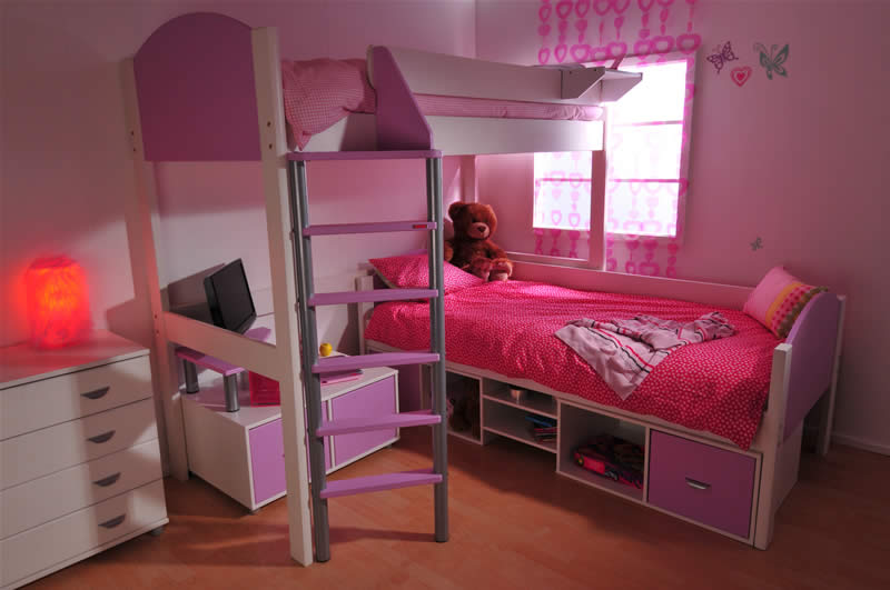 Stompa casa high sleeper bed build your own for How to make a high bed