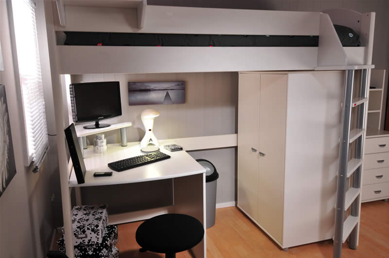 Permalink to build your own loft beds
