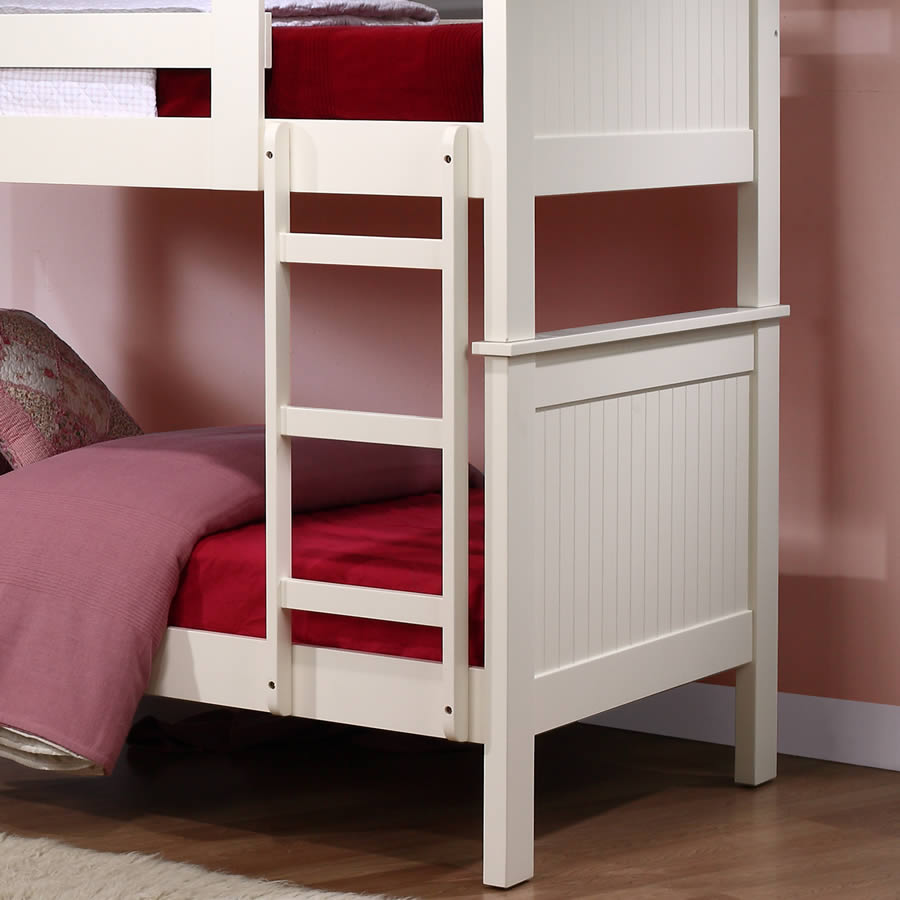 Murphy Bunk Beds: TCFC Murphy Children's White Bunk Bed