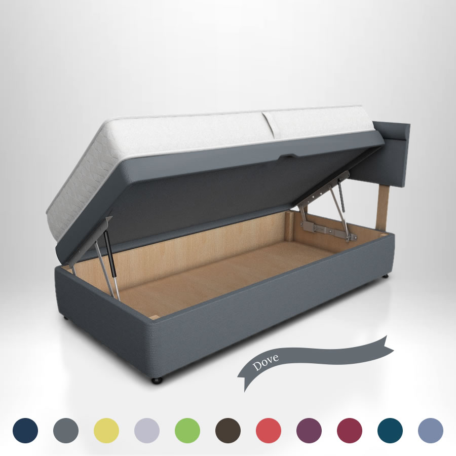 chic ottoman storage plain products top concept box with