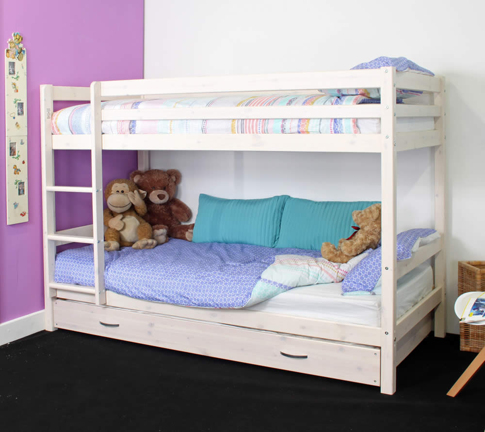 Hit 5 Bunk Bed With Trundle Bed Drawers The Home And Office Stores