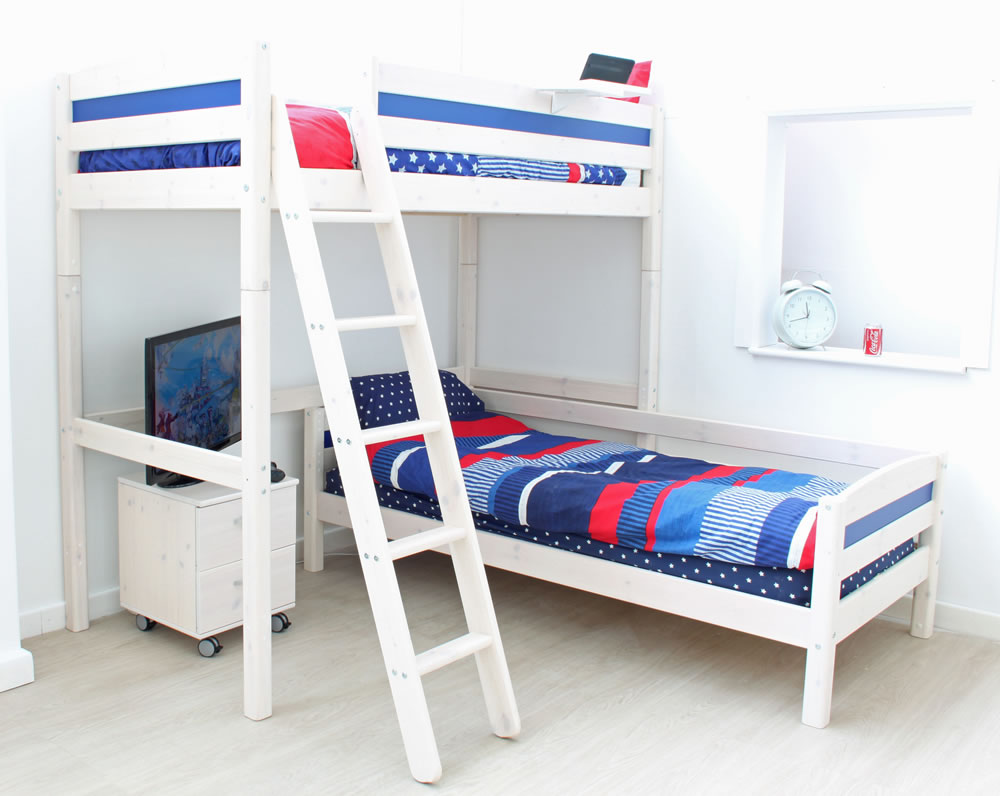 Thuka Trendy High Sleeper Bed D L Shaped Guest Bed The