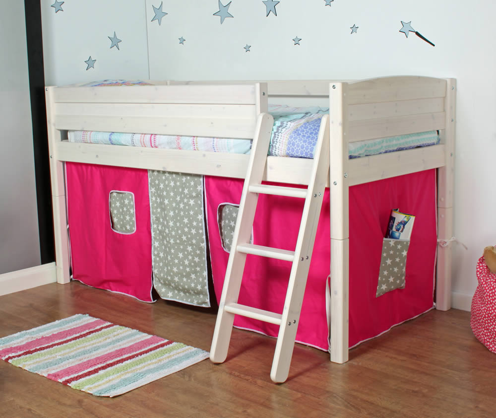 thuka trendy mid sleeper bed c the home and office stores. Black Bedroom Furniture Sets. Home Design Ideas
