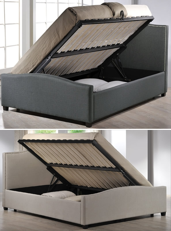 Time living brunswick lift up storage bed - Lift up storage bed ...