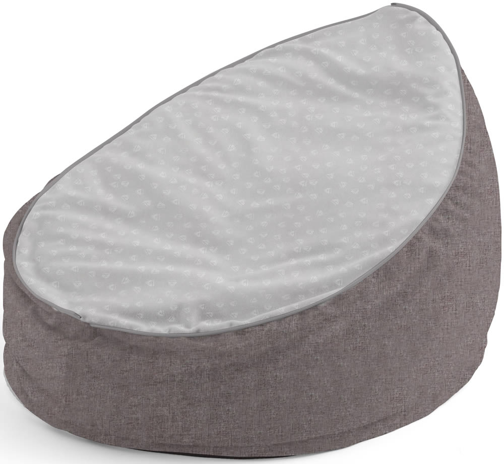 Tremendous Tutti Bambini Baby Beanbag Cloud Grey Andrewgaddart Wooden Chair Designs For Living Room Andrewgaddartcom