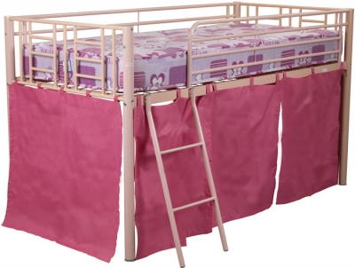 Sweet Dreams Twinkle Pink Mid Sleeper Bed