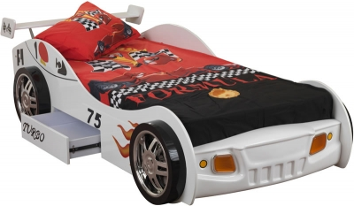 Sweet Dreams Sonic Racing Car Bed