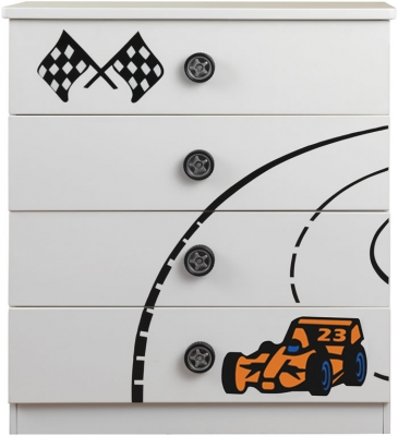 Sweet Dreams Sonic Racing Chest of Drawers