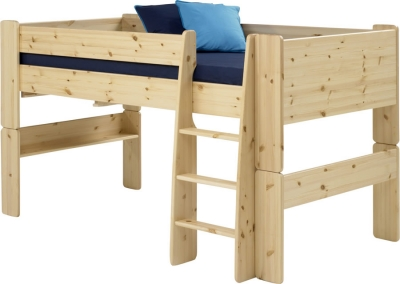 Steens For Kids mid sleeper bed in natural pine