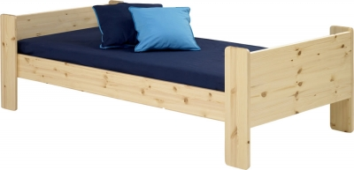 Steens For Kids single bed in natural pine