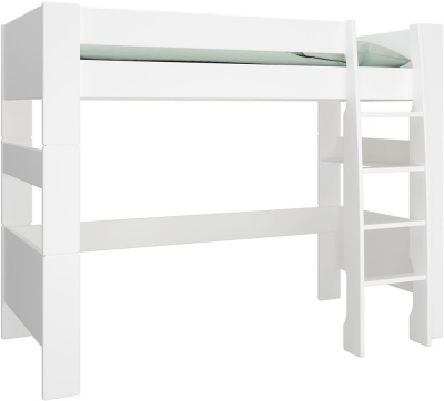 Steens For Kids high sleeper bed in white MDF